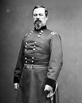 New 11x14 Civil War Photo: Union - Federal General Irwin McDowell