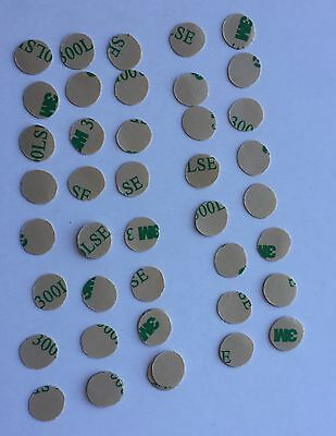 40 Pcs 10mm Dia  3M 300LSE VHB Double Sided Dots High-strength adhesive tape