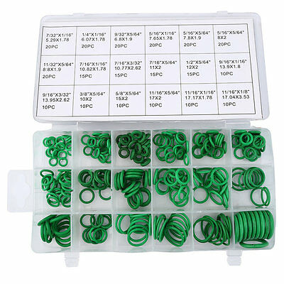270PCS Metric Rubber O-Ring Washer Assortment Kit Gasket Automotive Seal KN