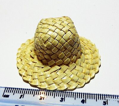 1:12 Scale Woven Straw Hat (PW)Doll House Miniature