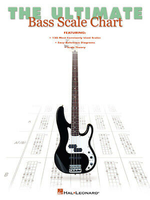 The Ultimate Bass Scale Chart Bass Guitar Chart Instrumental Reference
