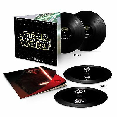 John Williams - Star Wars: The Force Awakens - New Black Vinyl Hologram