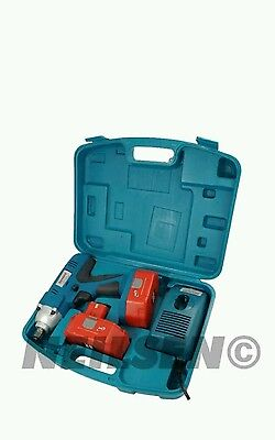 Neilsen 24 Volt 1/2 inch Drive Cordless Impact Wrench Gun With 2 Batteries. New.