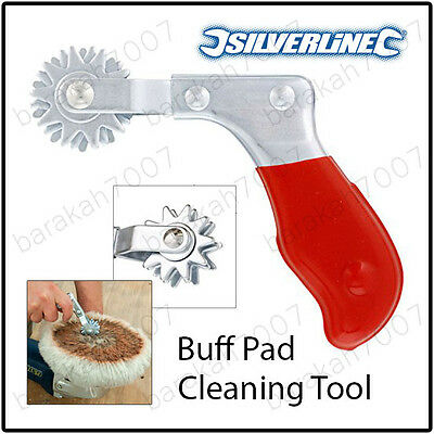 Cleaning Spur for Buff Pads Foam Head Car Polish Bonnets and Compound Pads Tool