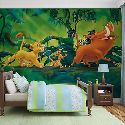 WALL MURAL Disney Lion King Pumba Simba XXL PHOTO WALLPAPER (3204DC)