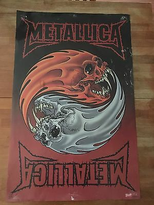 Metalica Poster Preowned