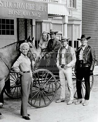"""""""The Big Valley"""" Cast From The Abc Western Series  8X10 Publicity Photo (Da-709)"""