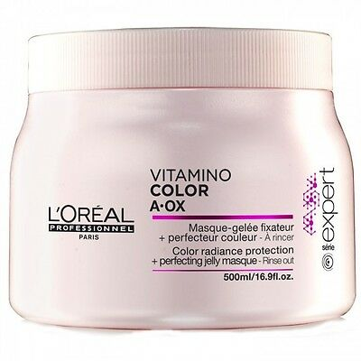VITAMINO COLOR  SOIN MASQUE L'OREAL PROFESSIONNEL 500ml CHEVEUX COLORES