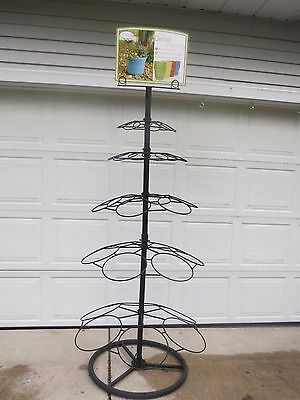 7' Ft  Flower Shop/Florist Store Display Plant/Pot/ Bouquet Rack Holder Stand