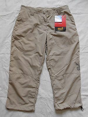 Jack Wolfskin Savanna 3/4 Pants UK 10/12
