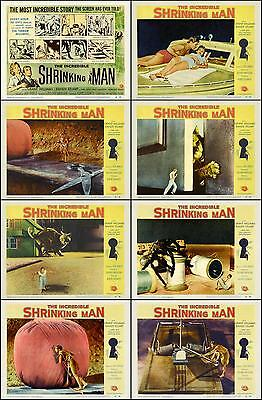 THE INCREDIBLE SHRINKING MAN Complete Set Of 8 Individual 11x14 LC Prints 1957
