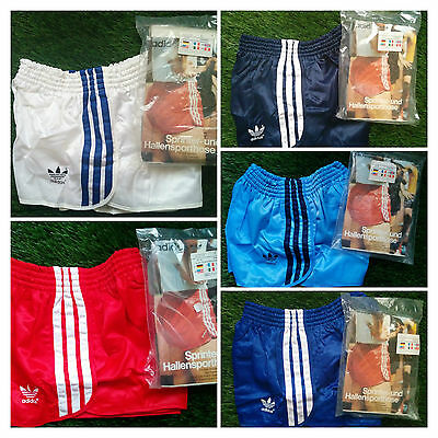 NEW Vintage Adidas Shorts True RUNNER SPRINTER Vinyl Shiny Retro West Germany