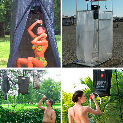 20L Solar Energy Heated Outdoor Camping Hiking Activity PVC Camp Shower Bag