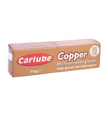 Carlube Copper grease Multi Purpose Anti Sieze Slip Assembly Compound 70g Tube