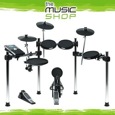 New Alesis Forge 8 Piece Electronic Drum Kit with Forge Drum Module - Drum Set