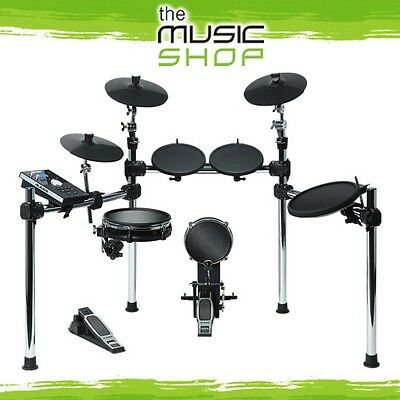 New Alesis Command 8 Piece Electronic Drum Kit with Mesh Snare & Kick - Drum Set