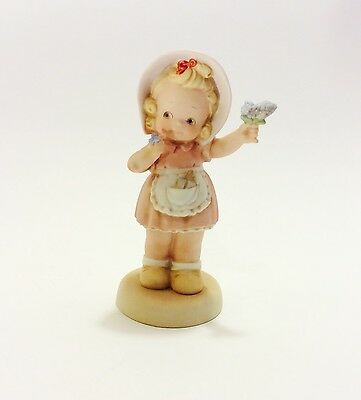 "Memories of Yesterday Figurine ""Forget Me Not"" 1995 Enesco #S0106 Collectible"