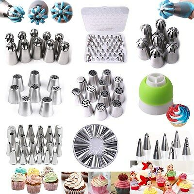 80pcs Russian Tulip Icing Piping Nozzles Cake Decoration Tips Pastry Tool Set