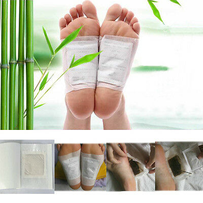 Hot 10PCS Detox Foot Pads Patch Detoxify Toxin Adhesive Keeping Fit Healthy New