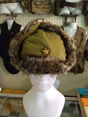 Wwii Ww2 Japanese Military Army Soldier Cap Hat Anti Cold Winter Cap