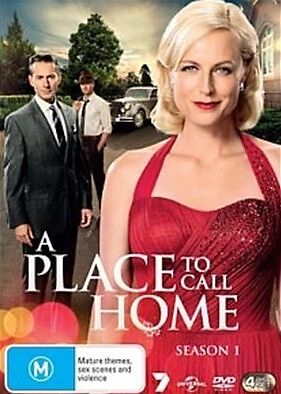 A PLACE TO CALL HOME-Season 1-Region 4-New AND Sealed-3 DVD Set-TV Series