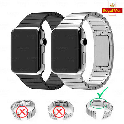 Caloics 316L stainless steel Link Buckle Strap Band for apple watch 38/42mm RM24
