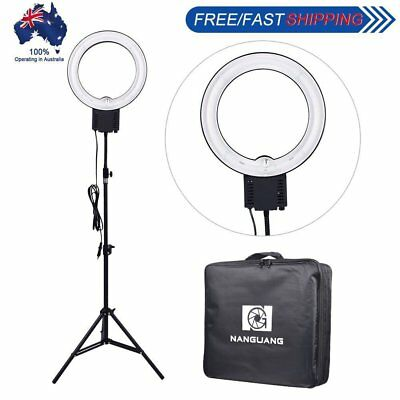 Studio 40W Daylight Fluorescent Ring Lamp Light + 90cm Stand w/ Carry Bag