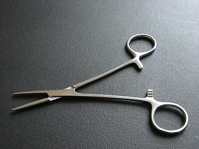 Pet Grooming Hemostat Groomer - Dog Ear Hair Puller Straight Locking Forceps