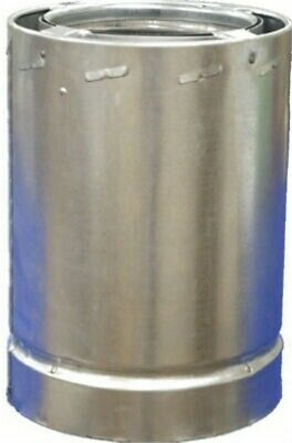 """6""""x3'All Fuel Chim Pipe,No 6S3,  Airjet Inc"""