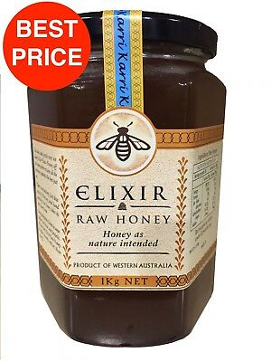 ELIXIR AUSTRALIAN RAW HONEY 1Kg