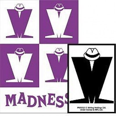 MADNESS logo 2012 - ACRYLIC KEYCHAIN official merchandise