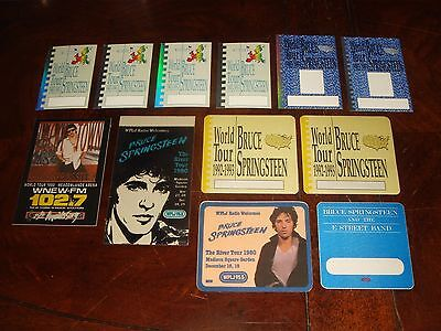 LOT OF 12 Rare BRUCE SPRINGSTEEN Backstage Passes MADISON SQUARE GARDEN 1980