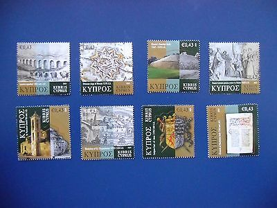 CYPRUS 2009  CYPRUS THROUGH THE AGES  ARCHAEOLOGY Mint NH UNUSED STAMPS