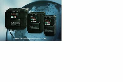WJ200-007MF  1hp 1-phase 115volt Input 3-phase Out 200-240volt Phase Converter