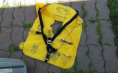 Airplane Boat Emergency Inflatable Vest Safe Life