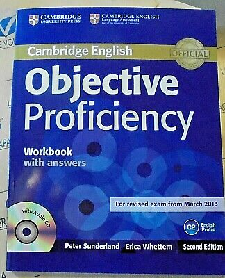 OBJECTIVE PROFICIENCY WORKBOOK with ANSWERS con Cd - 2nd EDITION - CAMBRIDGE