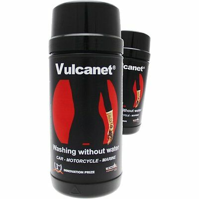 Vulcanet  - Motorcycle and car cleaning - 80 wiipes with Pro Microfibre Cloth