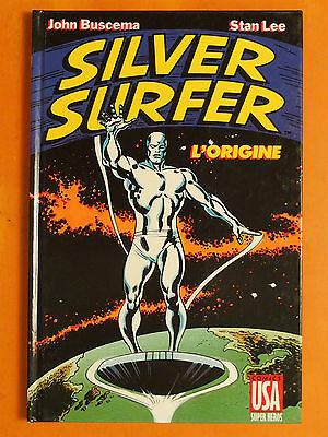 SILVER SURFER. l'origine. John Buscema & Stan Lee - Comics USA Super héros