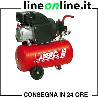Compressore aria  24 lt ABAC Pole Position RC2 Red Line