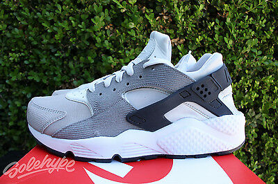 innovative design a4150 9b4e4 Nike Womens Air Huarache Premium Sz 5 Pure Platinum Cool Grey Wmn Run 683818  009