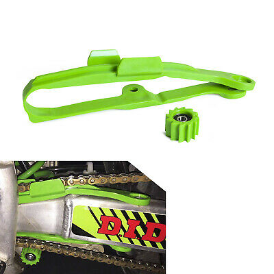 New Green Chain Slider with Lower Roller for Kawasaki KX450F 2006-2013 2014 2015