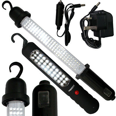 30-60-72-100 Led Rechargeable Inspection Lamp Light Torch Cordless Work Light