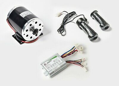 500W 36V DC Scooter electric 1020 motor kit w base+speed control+Twist Throttle
