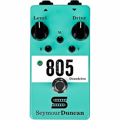 Seymour Duncan 805 Overdrive Effects Pedal, Brand New, Free Shipping