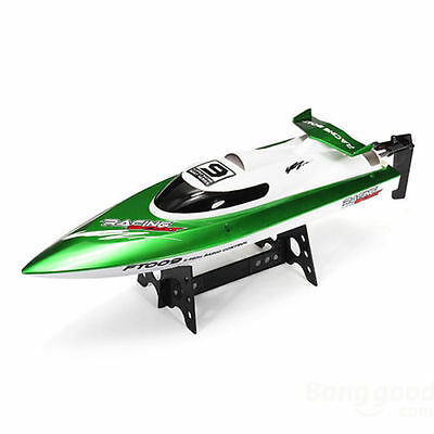 FT009 2.4G 4CH Water Cooling High Speed Remote Control Racing RC Boat Green AU