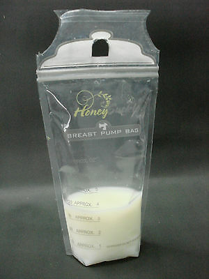 Breastmilk Storage Bags BPA-Free & Oxo-Biodegradable, (180ml) 50 - 100 Pks