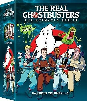 Real Ghostbusters 1-5 (2016, DVD NUOVO) (REGIONE 1)