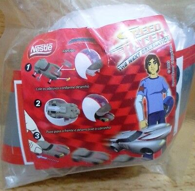 2009 Nestle promotion Speed racer the next generation plastic pullback car mip