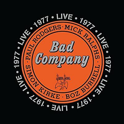 BAD COMPANY - LIVE 1977  (LP Vinyl) sealed