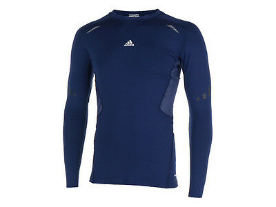 Thermoactive Adidas T-shirt Tech Fit LS P Prep Training, active men's Size: XL